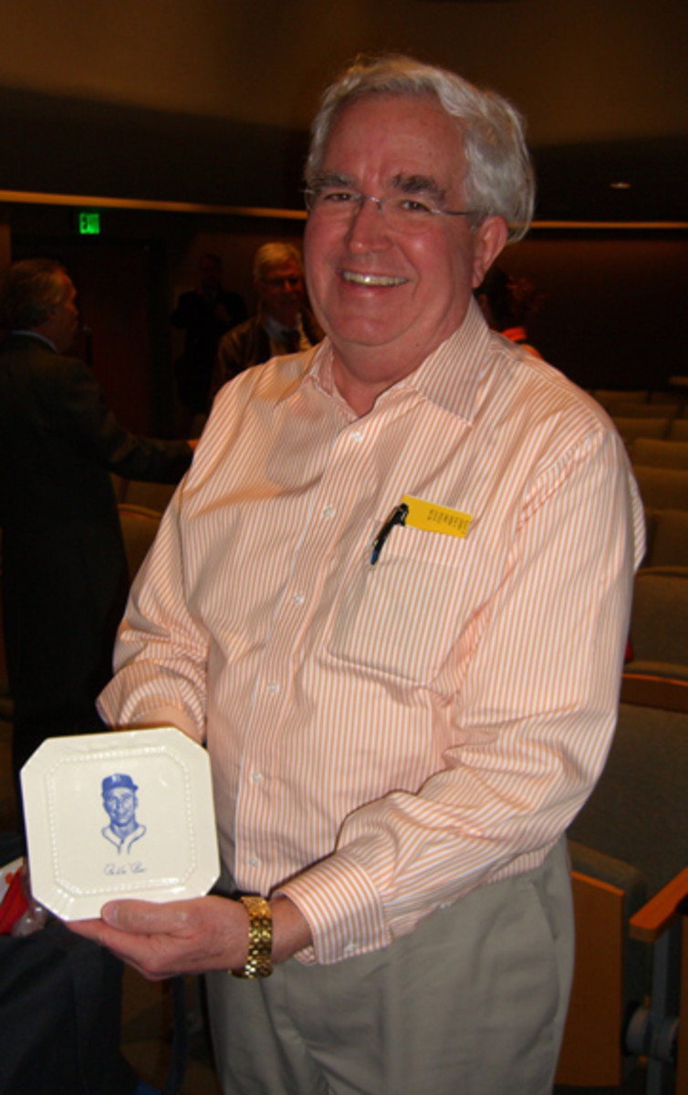 A unique Brooklyn Dodgers collectible was presented from Allan Moore.