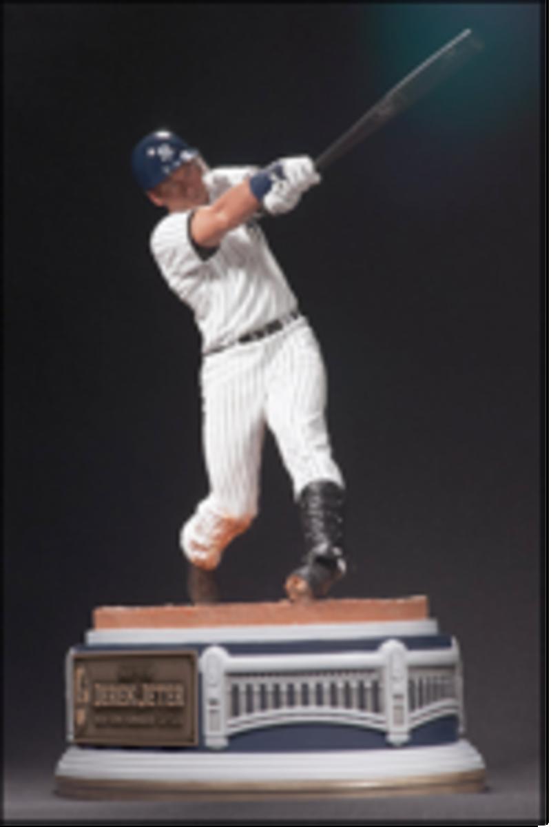McFarlane Toys' Derek Jeter resin statue