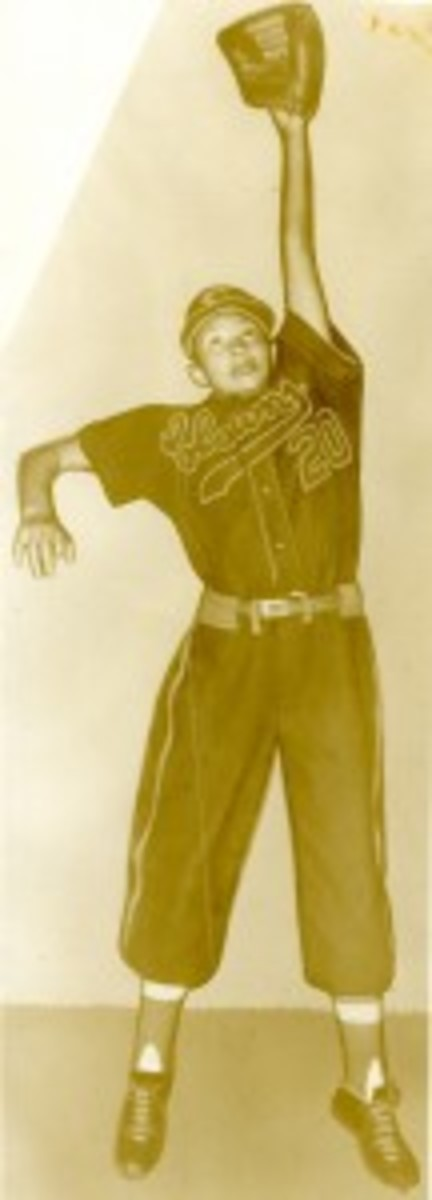 Mamie Johnson - Courtesy of Negro Leagues Baseball Museum