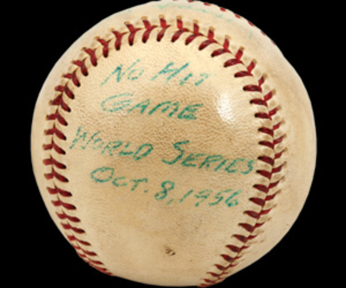 Don Drysdale perfect game ball.