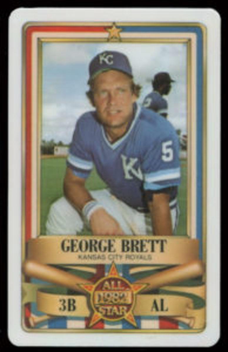 1982 Perma-Graphics George Brett All-Star card