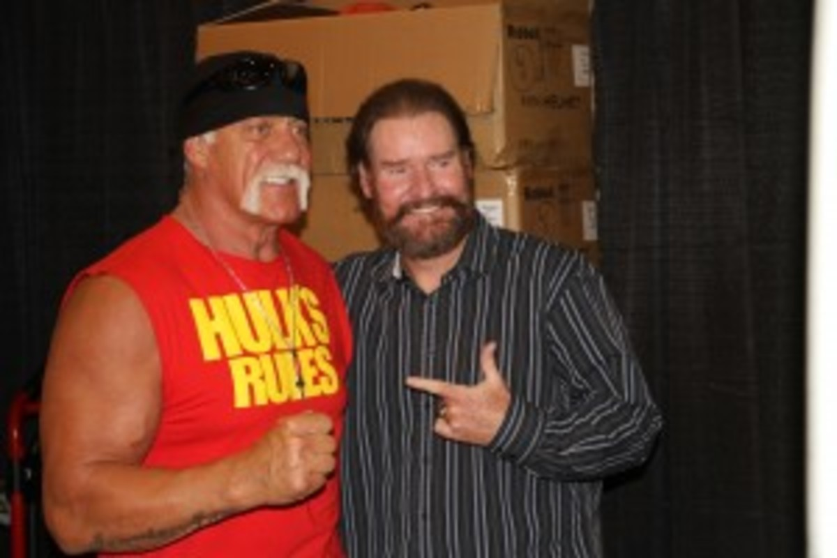 Hulk Hogan and Wade Boggs