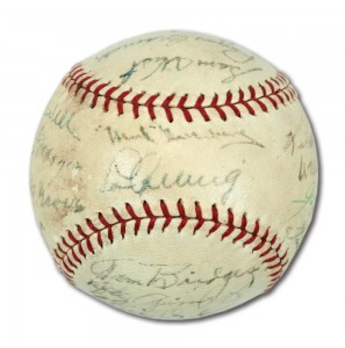 '37 Yankees Baseball