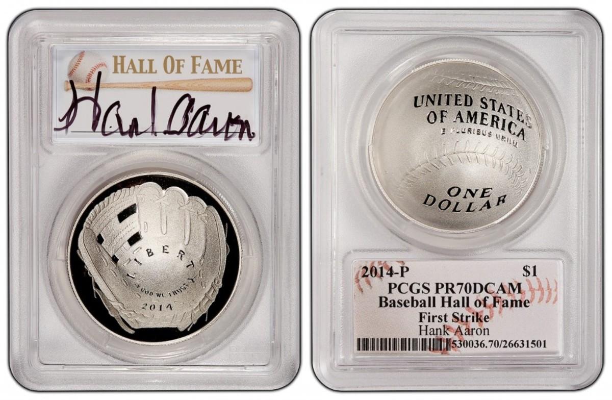 Hank Aaron autograph