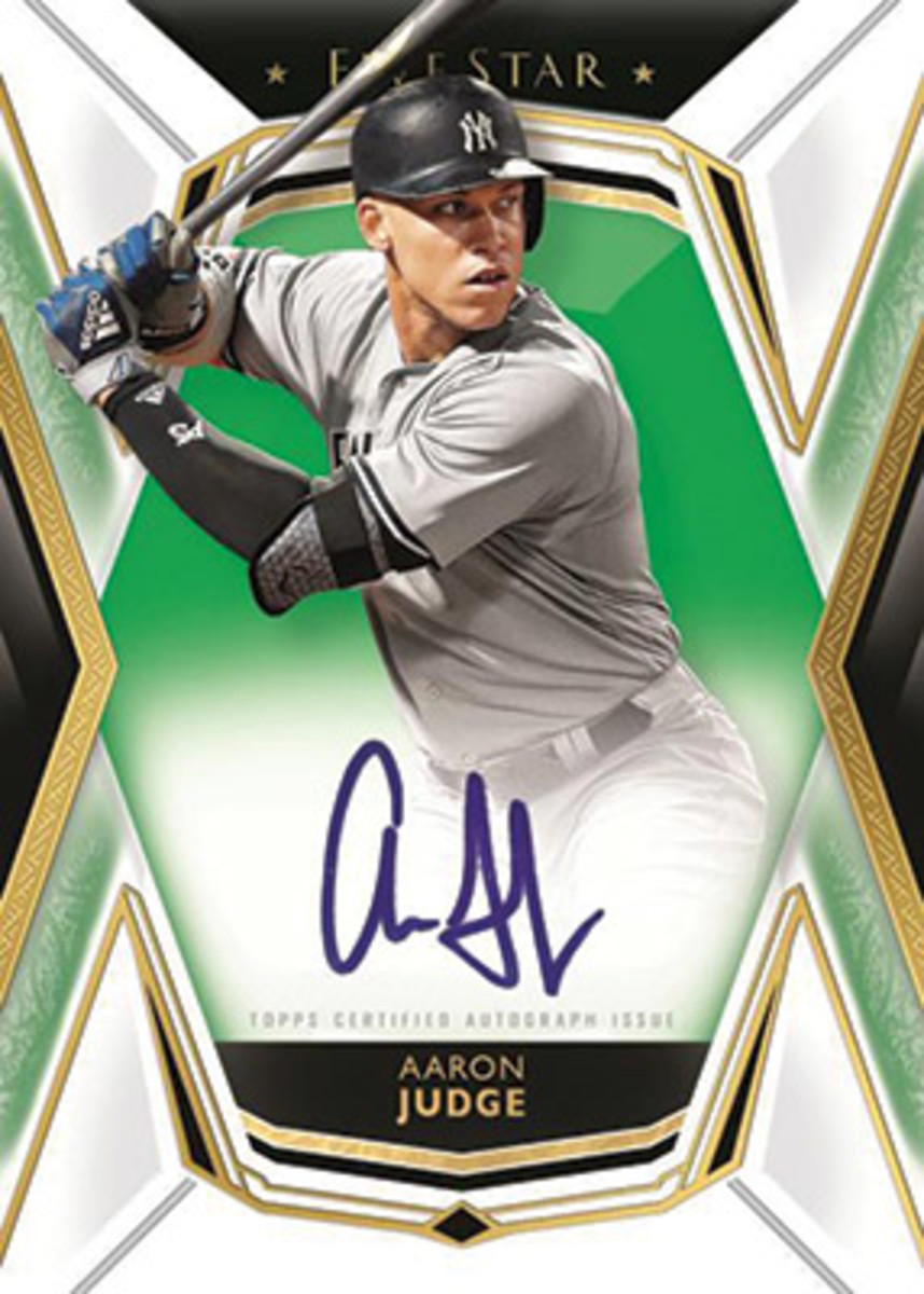 Aaron Judge, Topps Five Star Baseball card