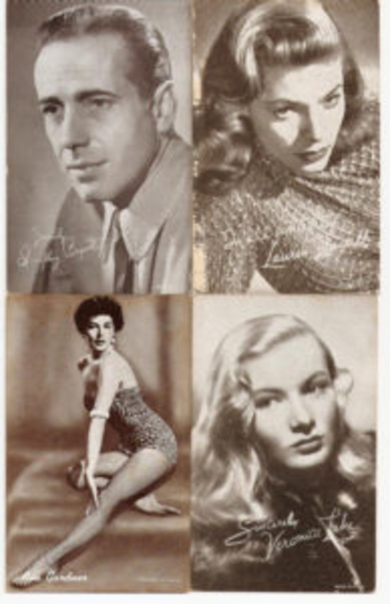 Bogart, Bacall, Gardner and Lake were likely as popular with customers as the baseball players.