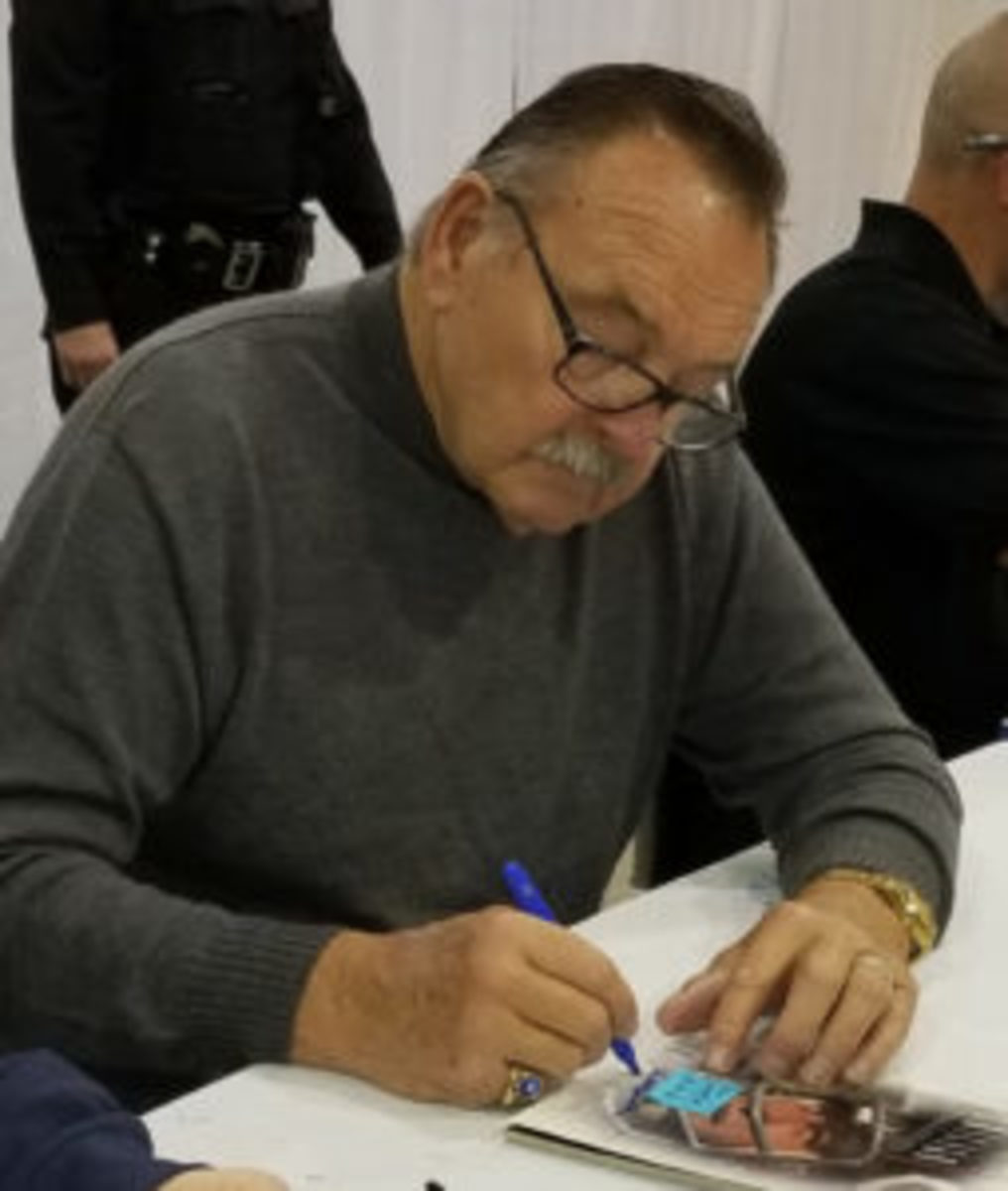 Former Chicago Bears great Dick Butkus. (Ross Forman photo)