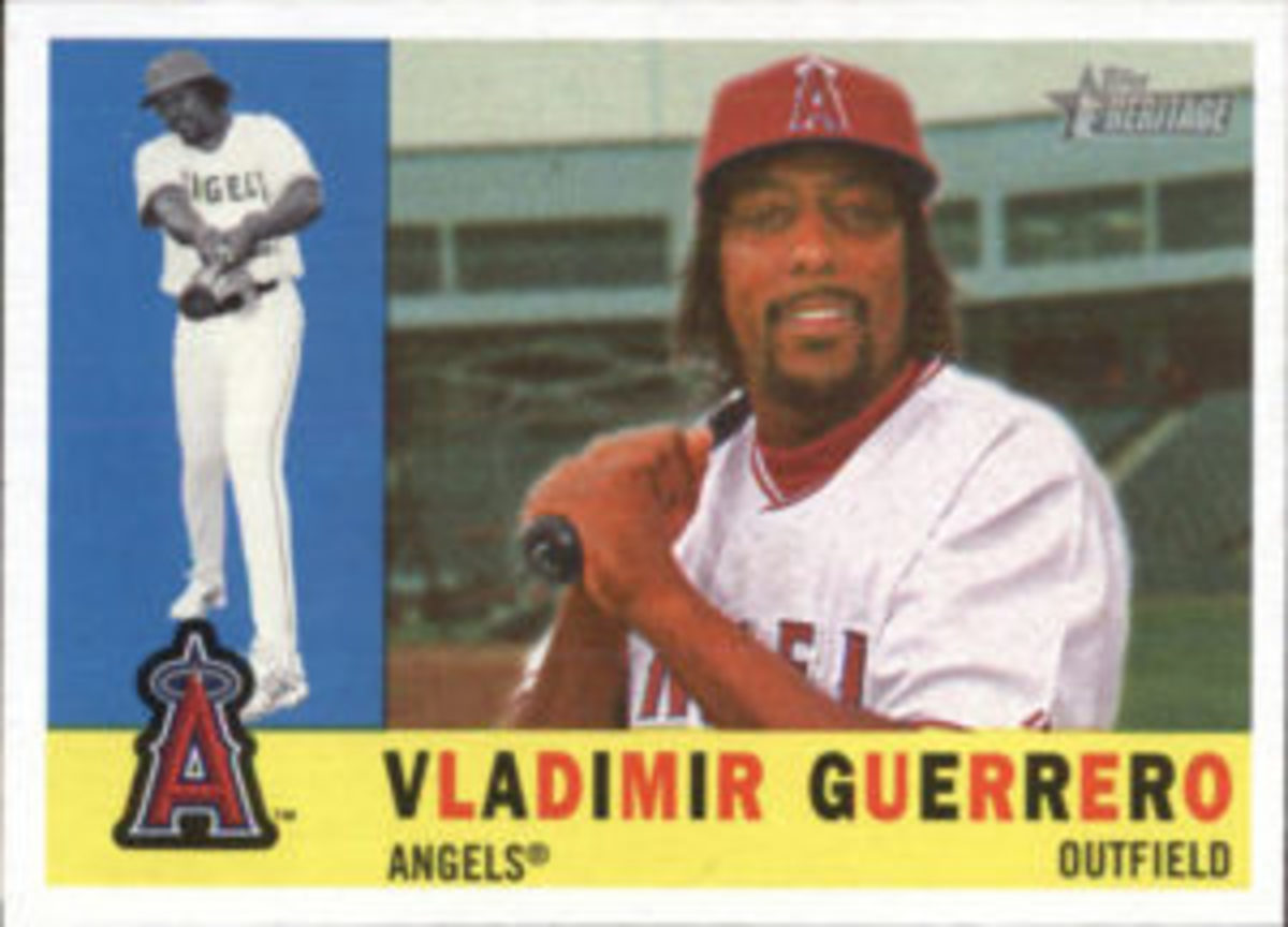 Even though he may be more recognizable as an Expos player, Vladimir Guerrero will be inducted into the Baseball Hall of Fame as an Angels player.