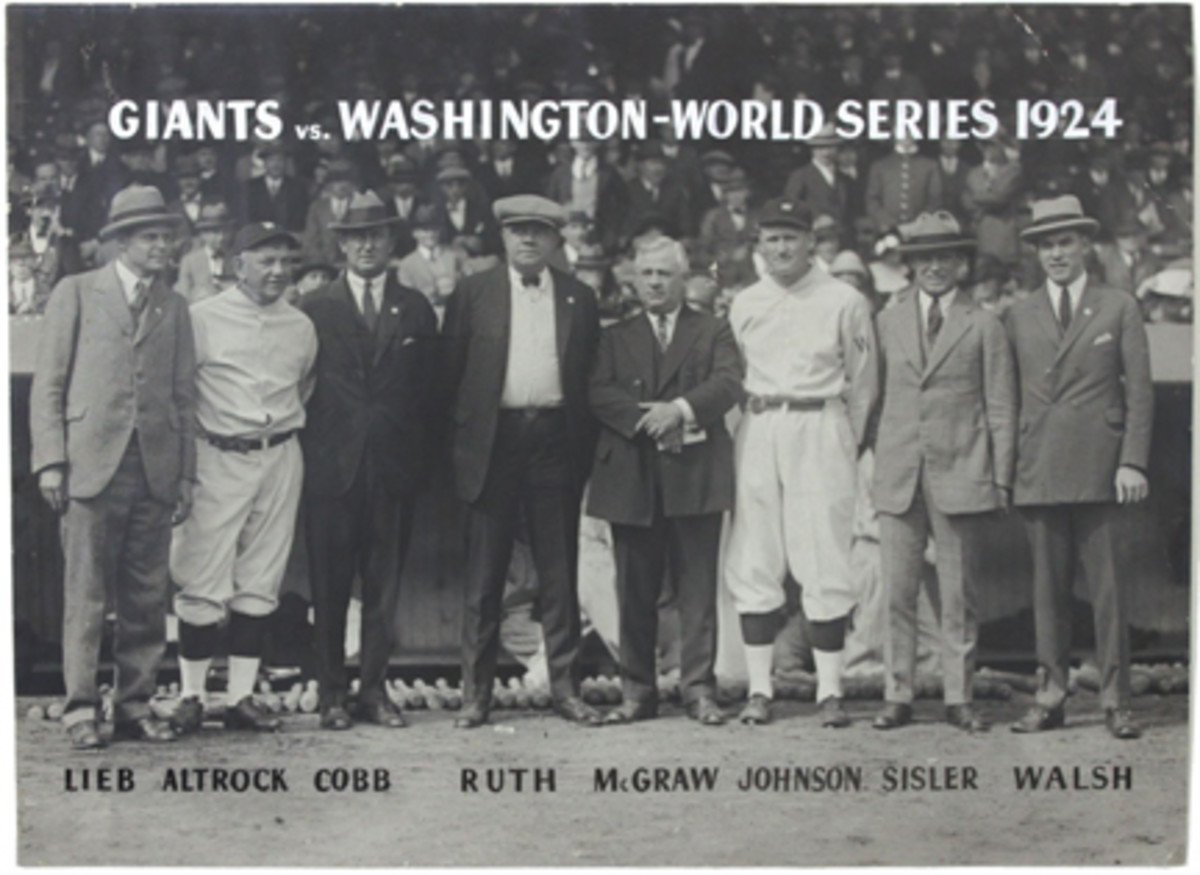 1924 World Series Original Type I photoWEB