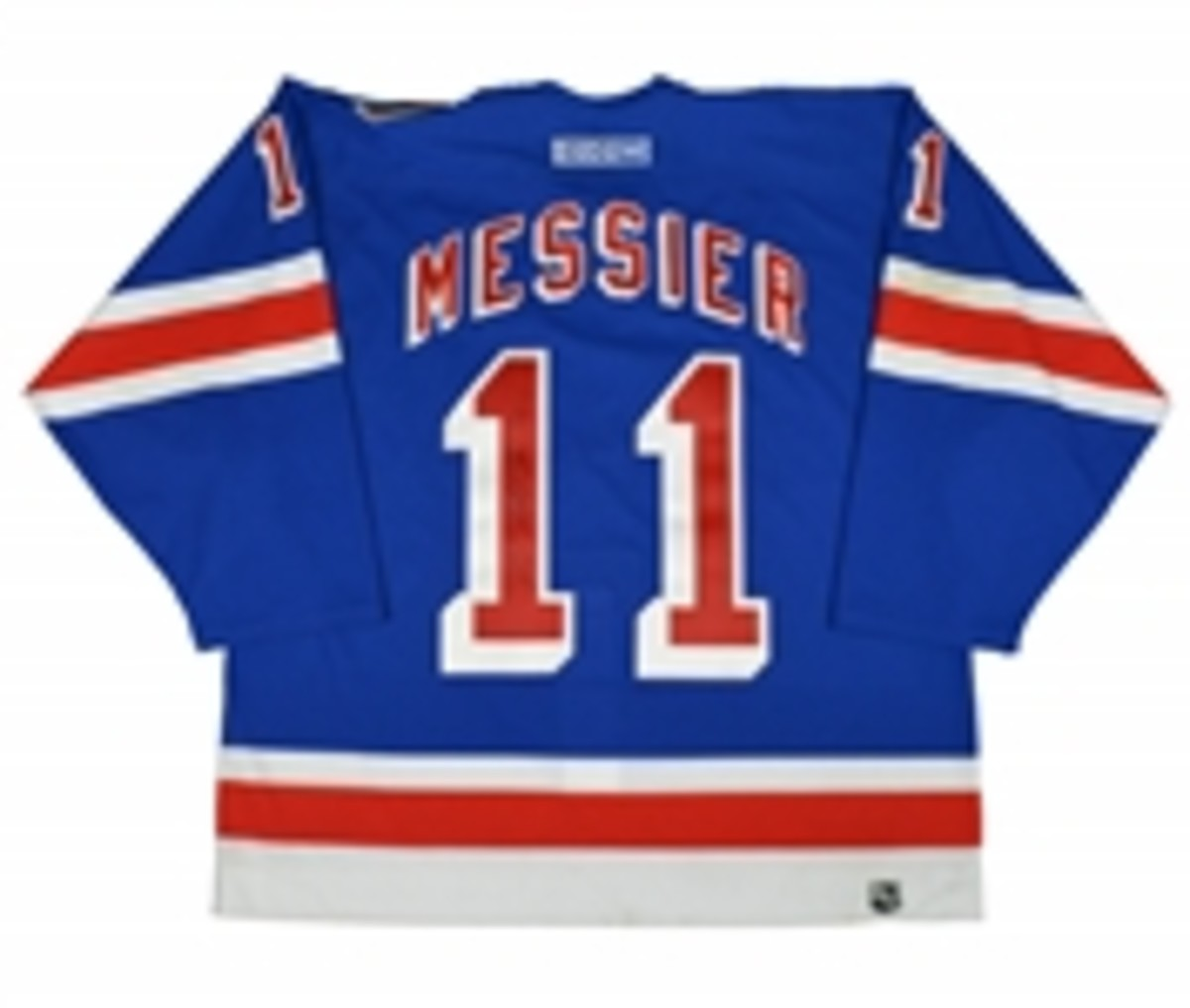 Messier Signed 911 Game Worn Jersey