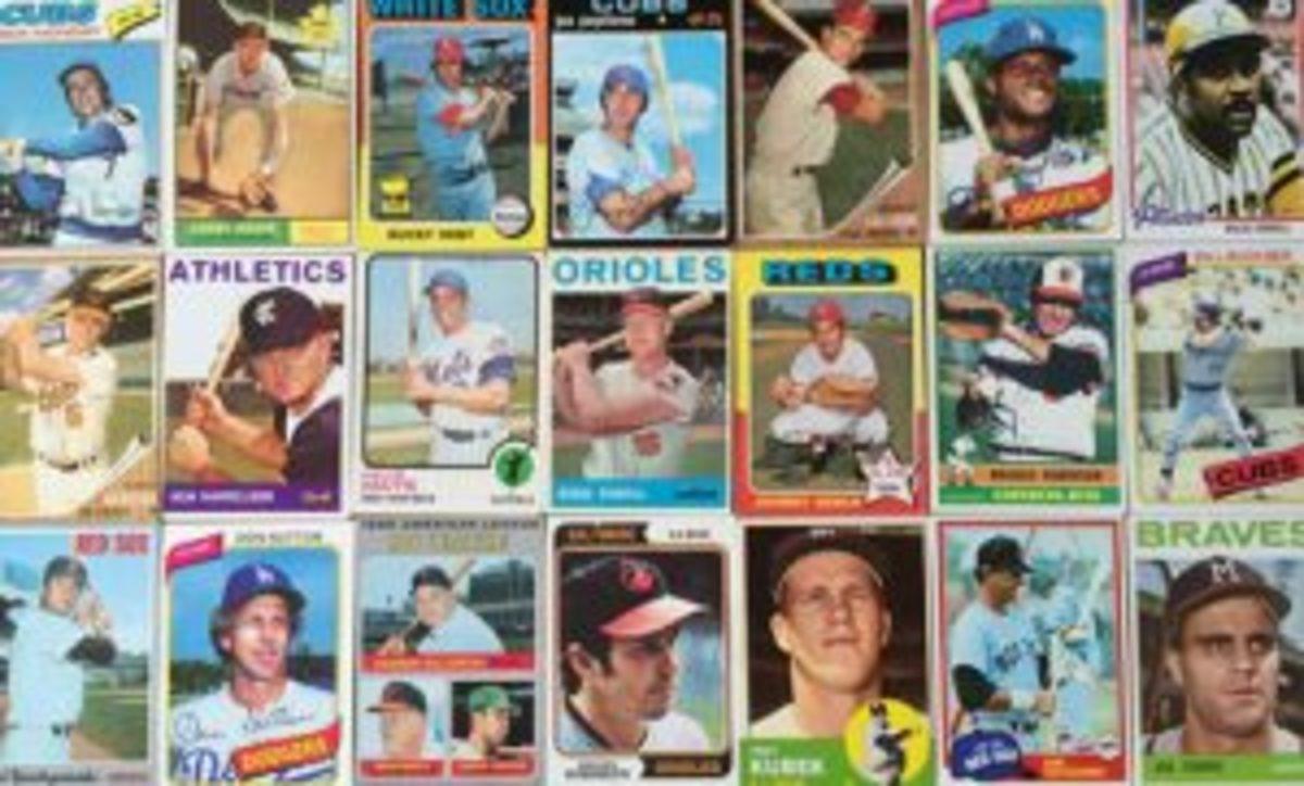 Older baseball cards picked up
