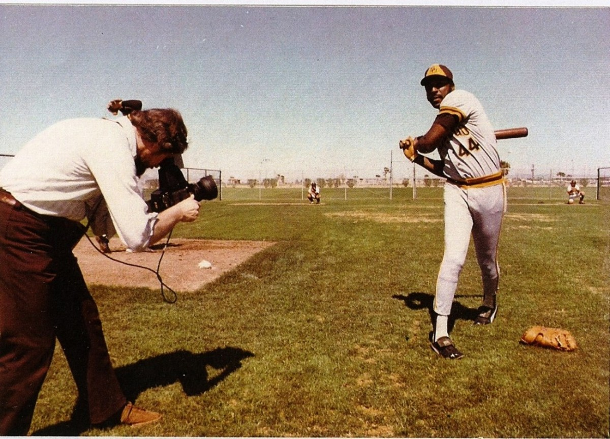 Willie McCovey. Photo by Andy Strasberg.