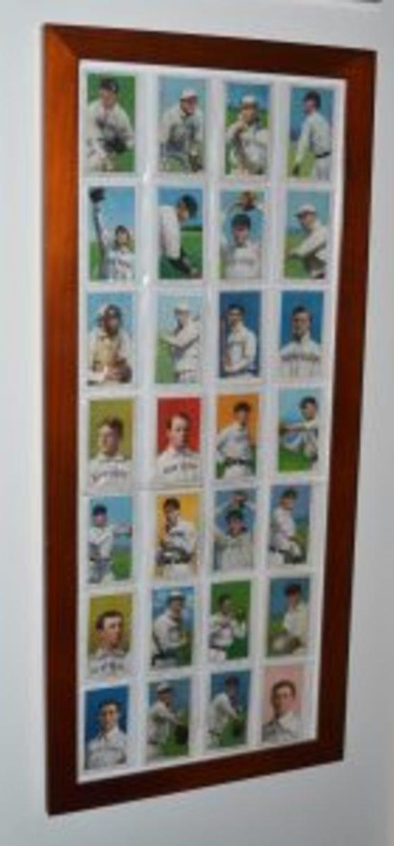 """""""Amer."""" League team card display"""