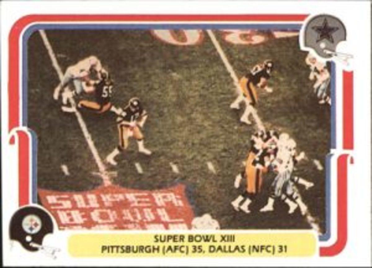 1980 Fleer Super Bowl