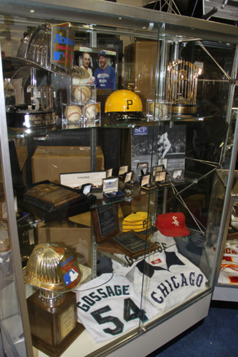 The Goose Gossage Collection will be offered by SCP Auctions.