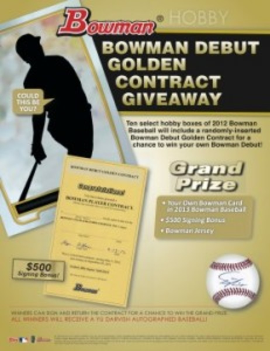 Bowman Debut Golden Contract_R6