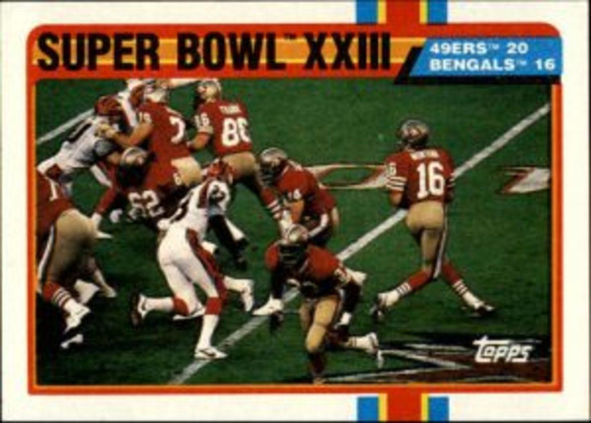 1989 Topps Super Bowl