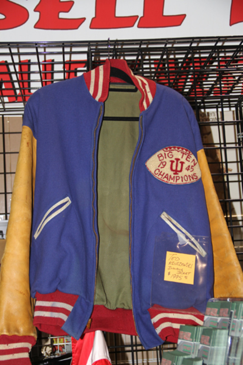Ted Kluszewski's Indiana University letterman jacket was for sale for $1,995.