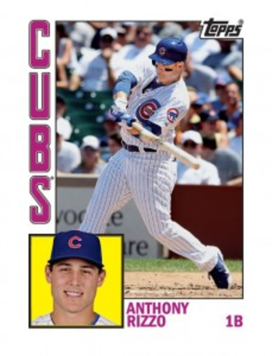 Cubs favorites young and old are featured in the new Topps sets, which have sold online for as much as $180.