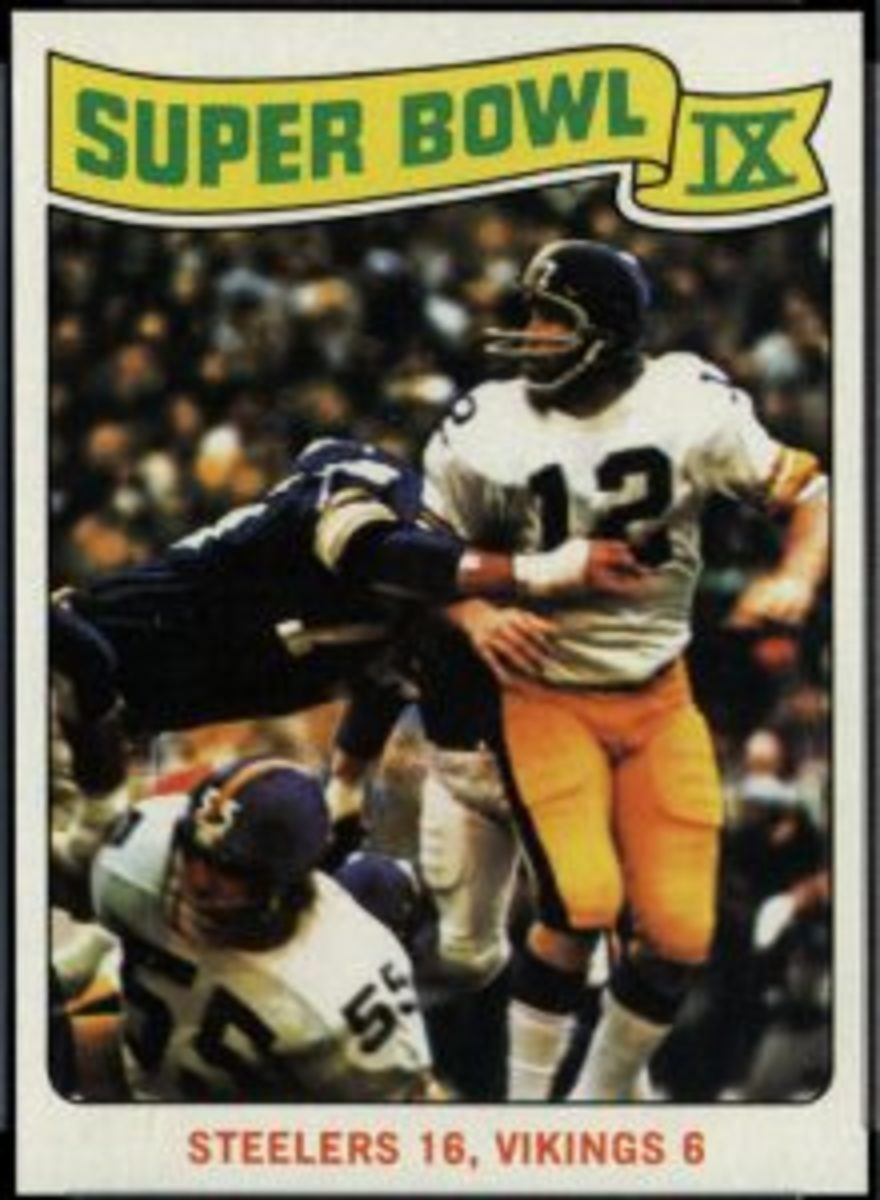 1975 Topps Super Bowl