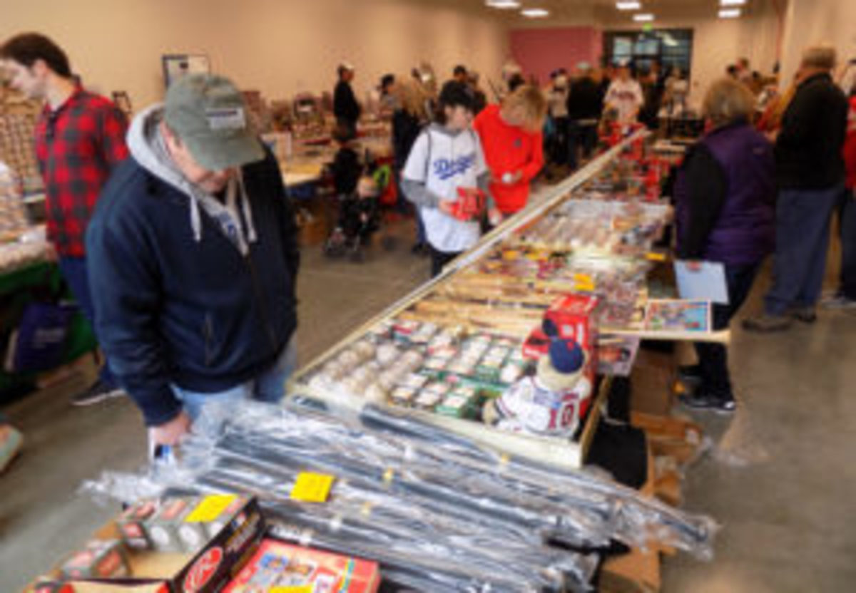 There were plenty of items available at the Card Show at Chop Fest.