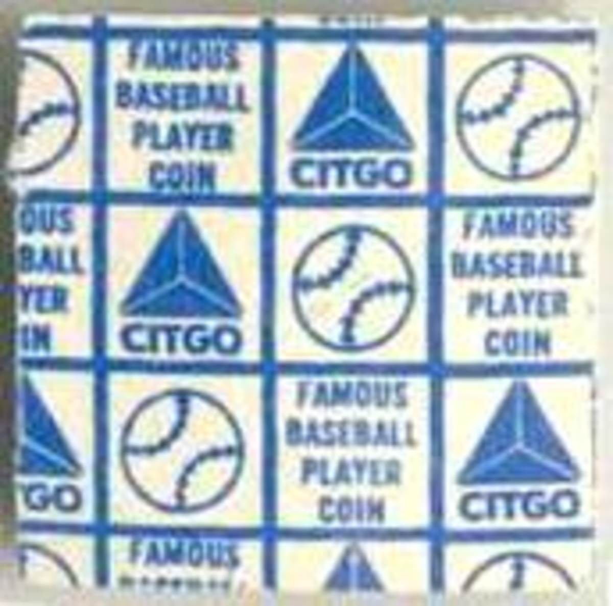 """Not much to look at, but the original single-coin packs promised a """"famous baseball player."""""""