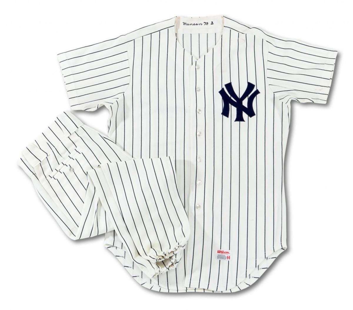 Thurman Munson's 1979 Home Uniform