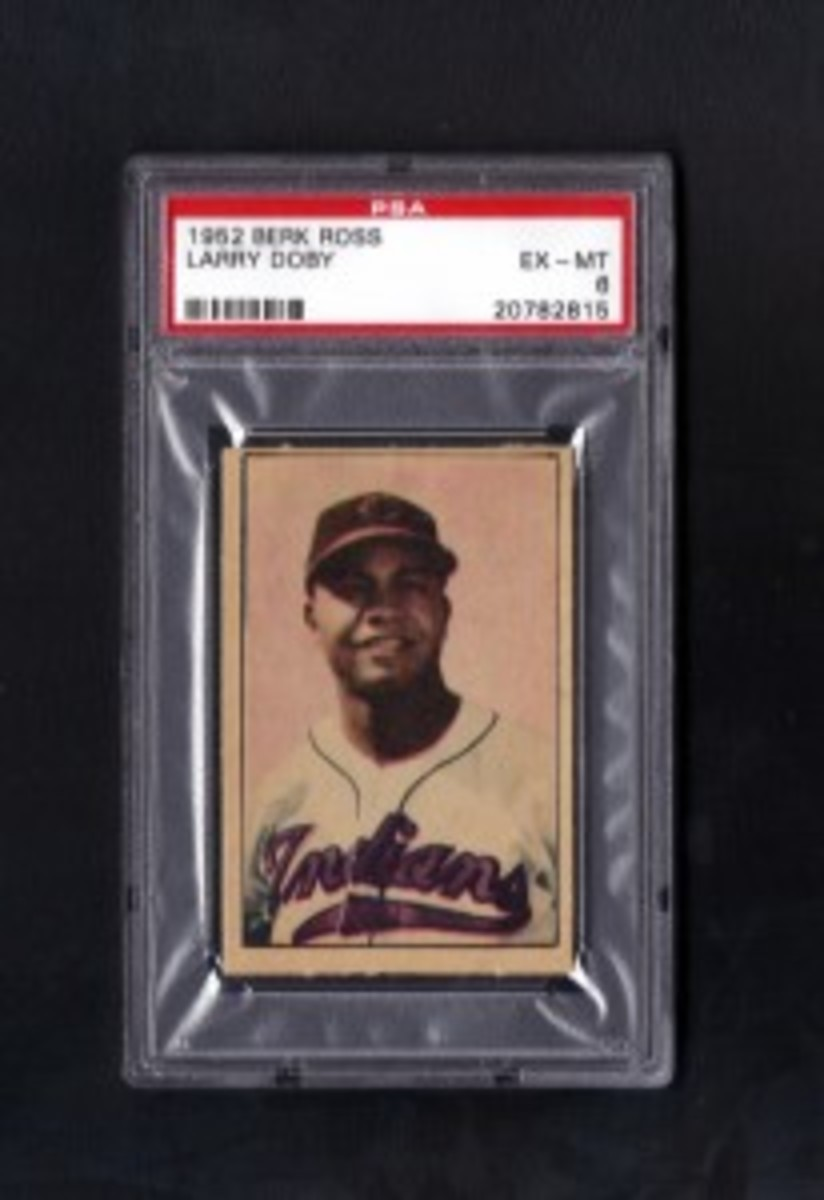 1952 Larry Doby Berk RossPSA6