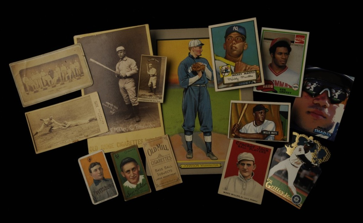 The Museum Collection and Library Archive have been built by the generosity of baseball fans, players and teams, with every item being donated. The collection and archive are substantial and include more than 145,000 baseball cards. (Milo Stewart, Jr. / National Baseball Hall of Fame)