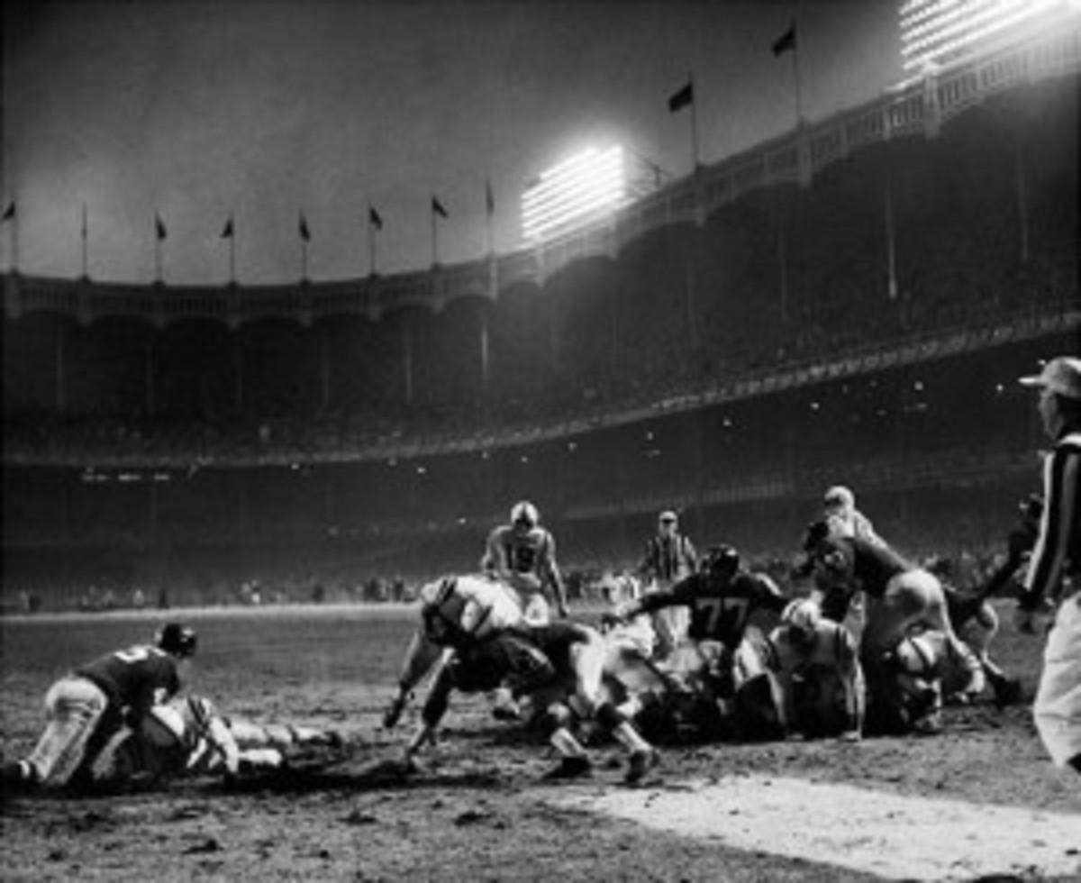 Alan Ameche Touchdown, 1958