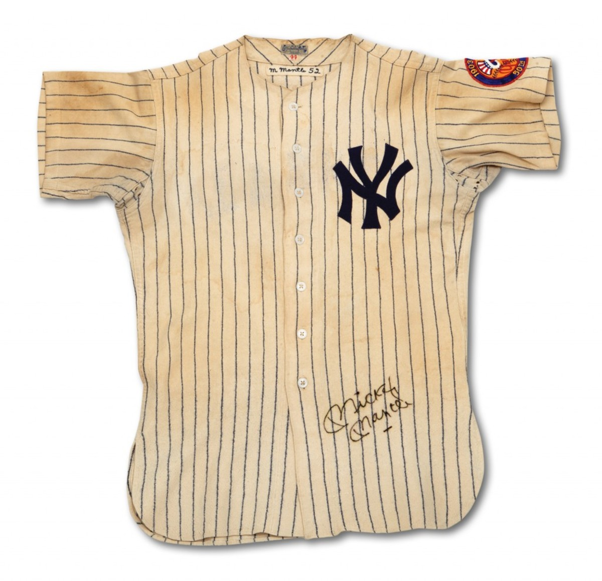 1952 Mantle Jersey