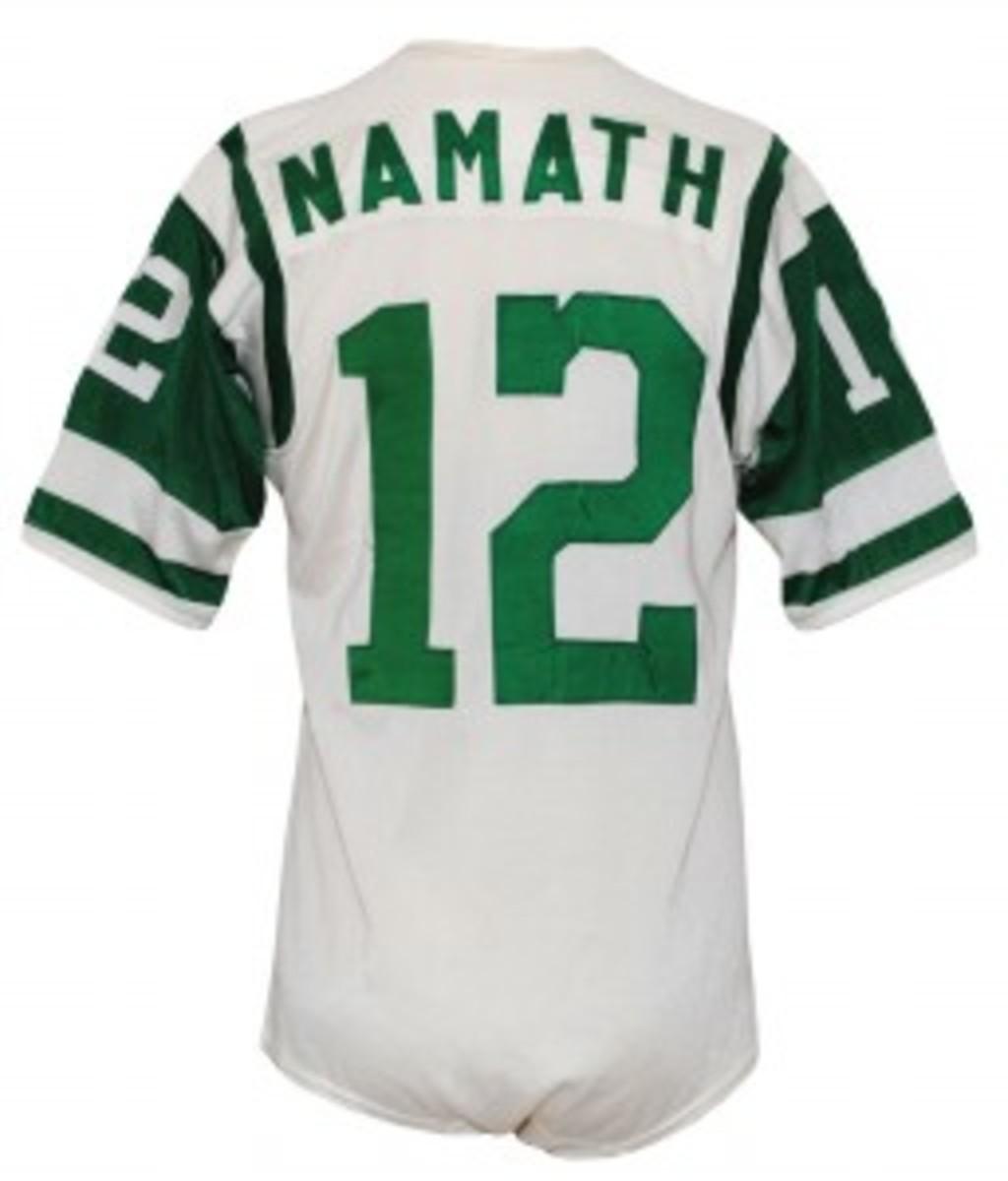 Joe Namath 1966 Jets jersey