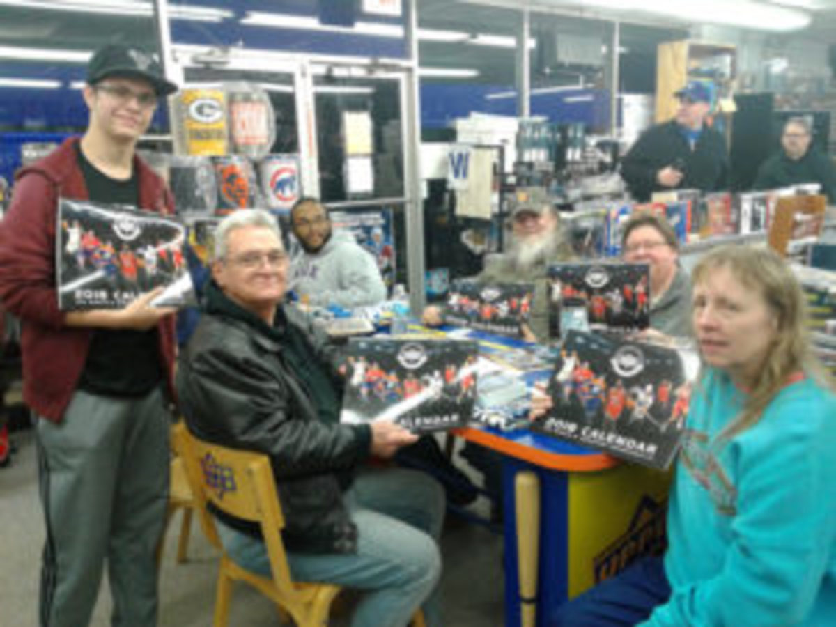 Hockey cards weren't the only items available at Jim & Steve's Sportscards. (Photo courtesy Jim & Steve's Sportscards)