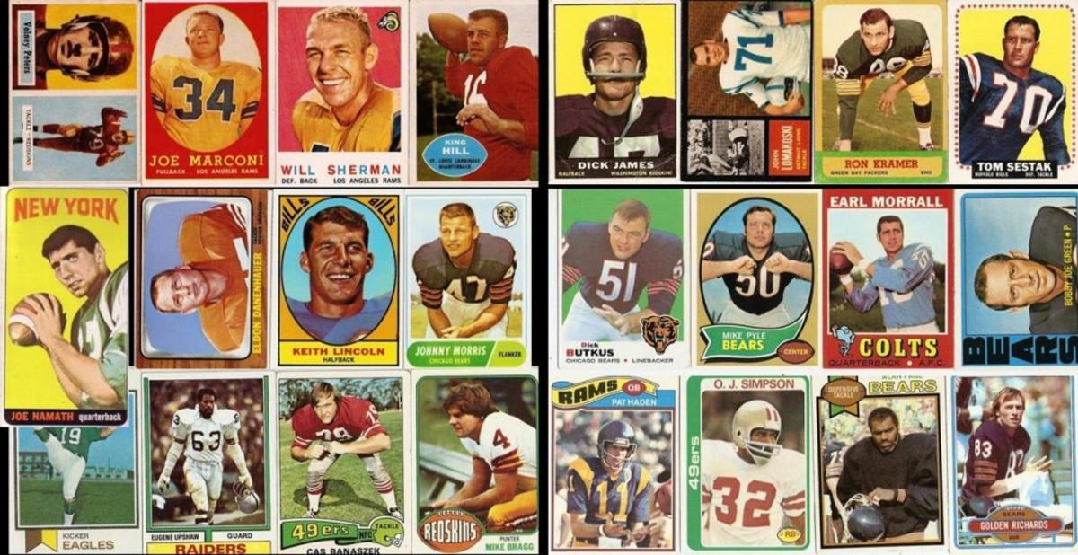 Topps cards 1957-1980.
