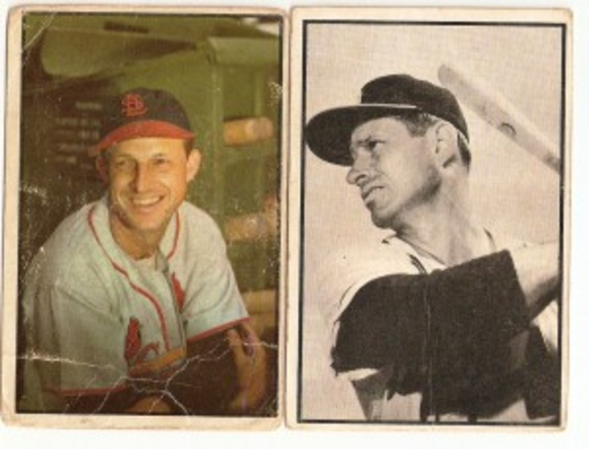 The heart of the order includes Stan Musial and Andy Pafko, who battled each other in the 1940s-50s.
