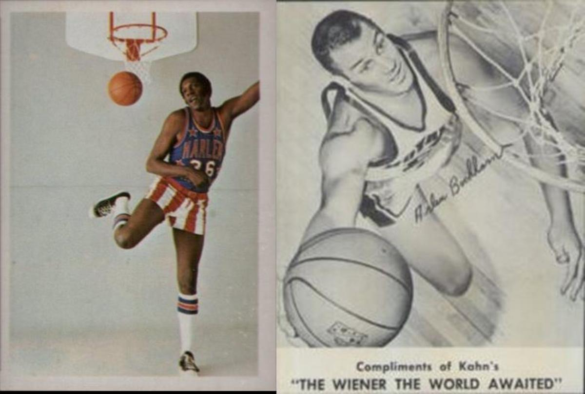 Fleer's Globetrotters and Kahn's were the only significant issues outside Topps.