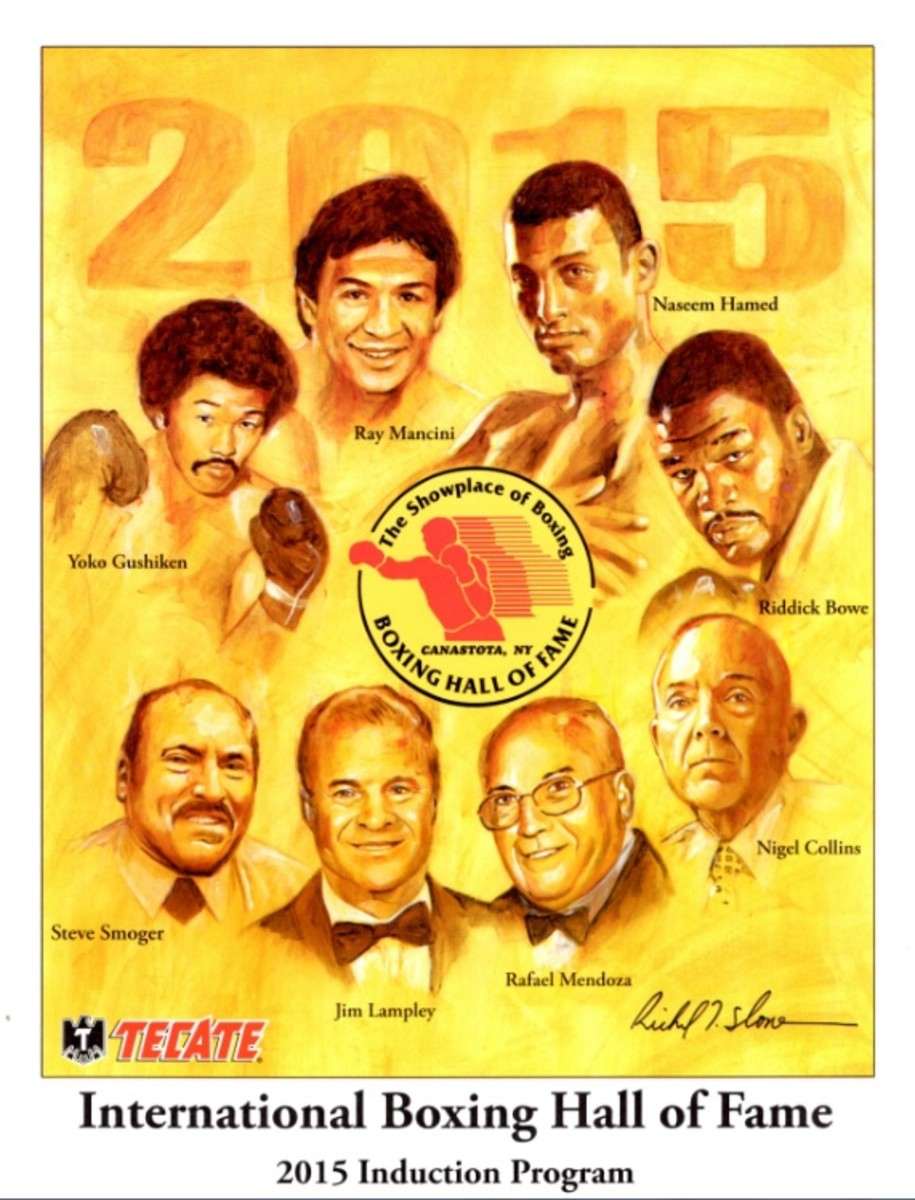 6. 2015 Boxing Hall of Fame Induction Program