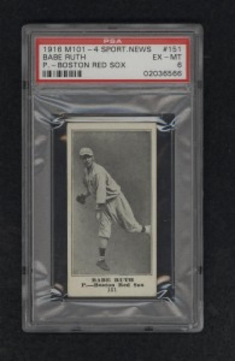 1916M101-4SportNewsRuthPSA6