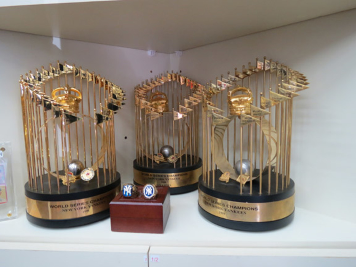 Treasures available at the Safe at Home shop were almost as impressive as those found in the Baseball Hall of Fame.