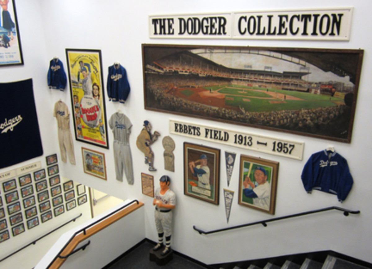 Memorabilia and displays are on every wallWEB