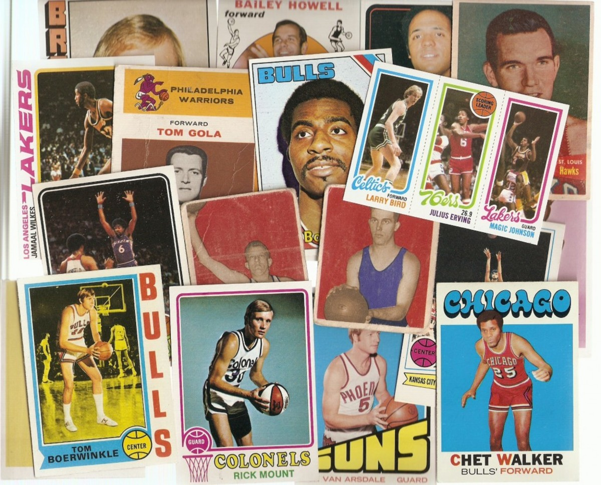 Basketball cards 1948-1981