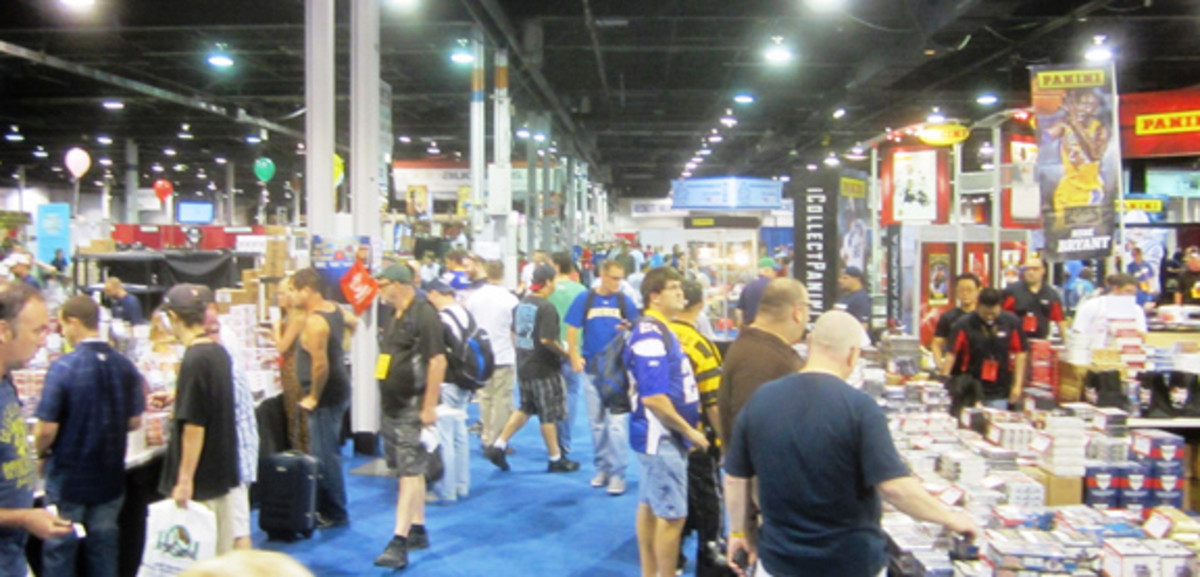Convention aisles were busy but never too crowded to get to the products.