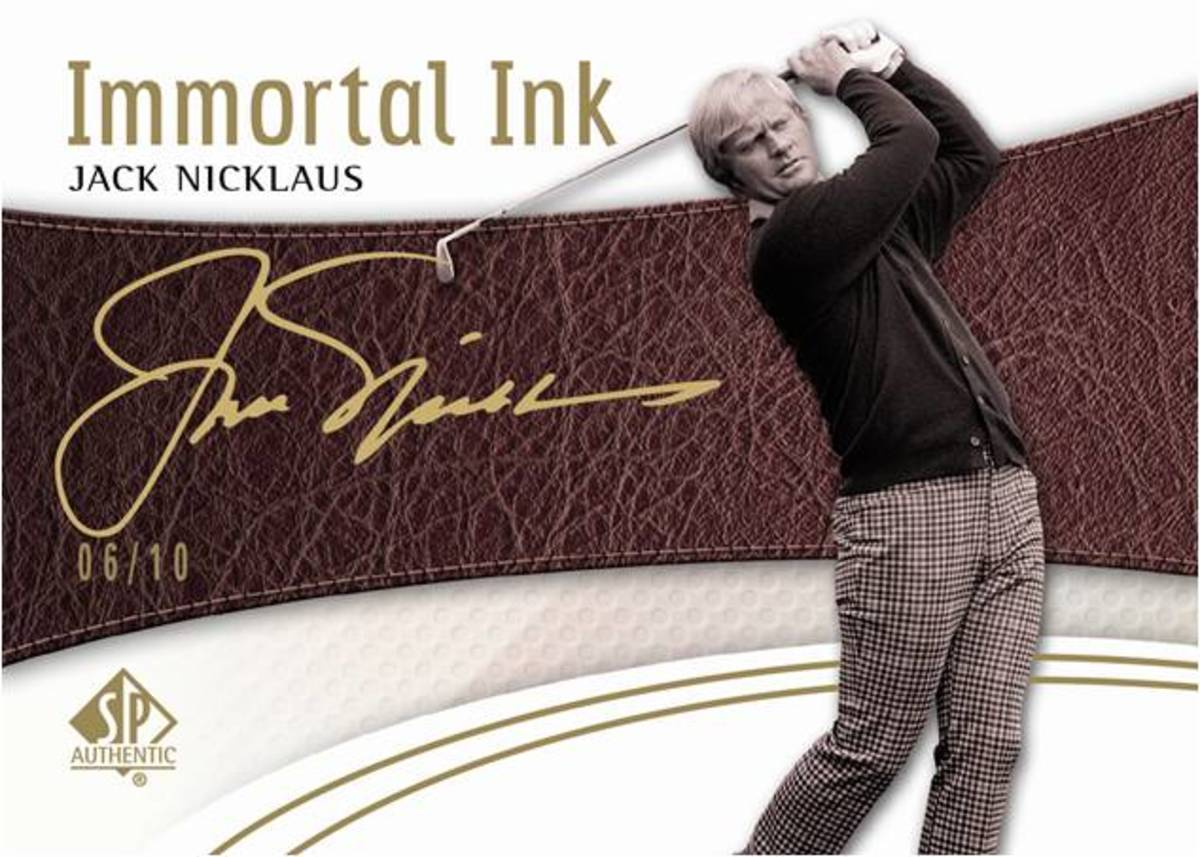 2014-SP-Authentic-Golf-Rookie-Immortal-Inks-Jack-Nicklaus-autograph