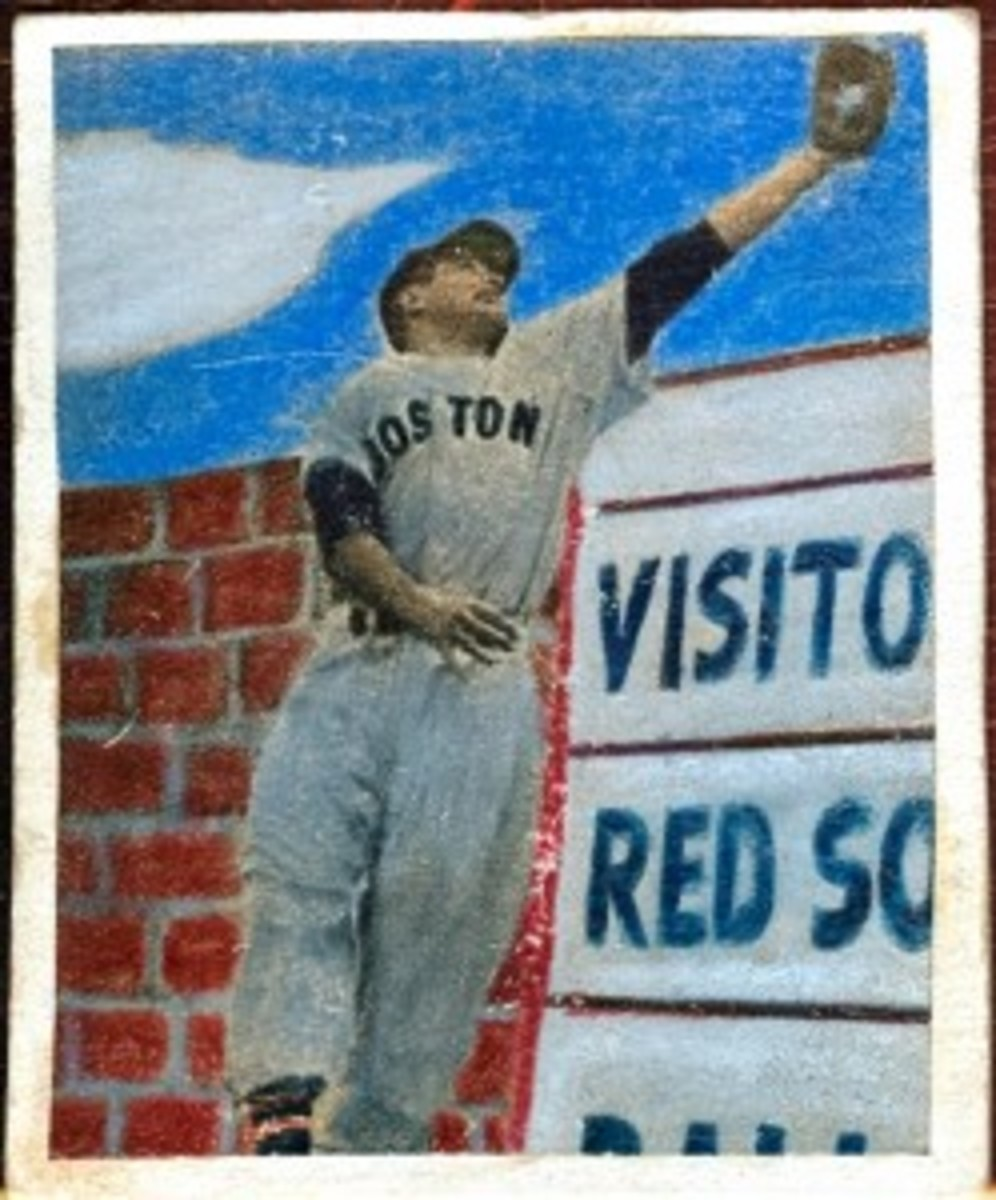 Spectacular image of Jimmy Piersall