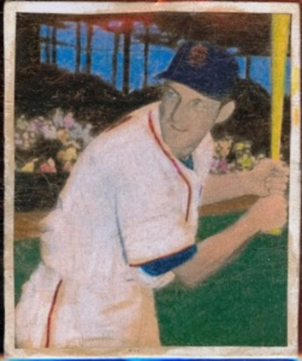 Was Stan Musial's inclusion in this mystery set wishful thinking?