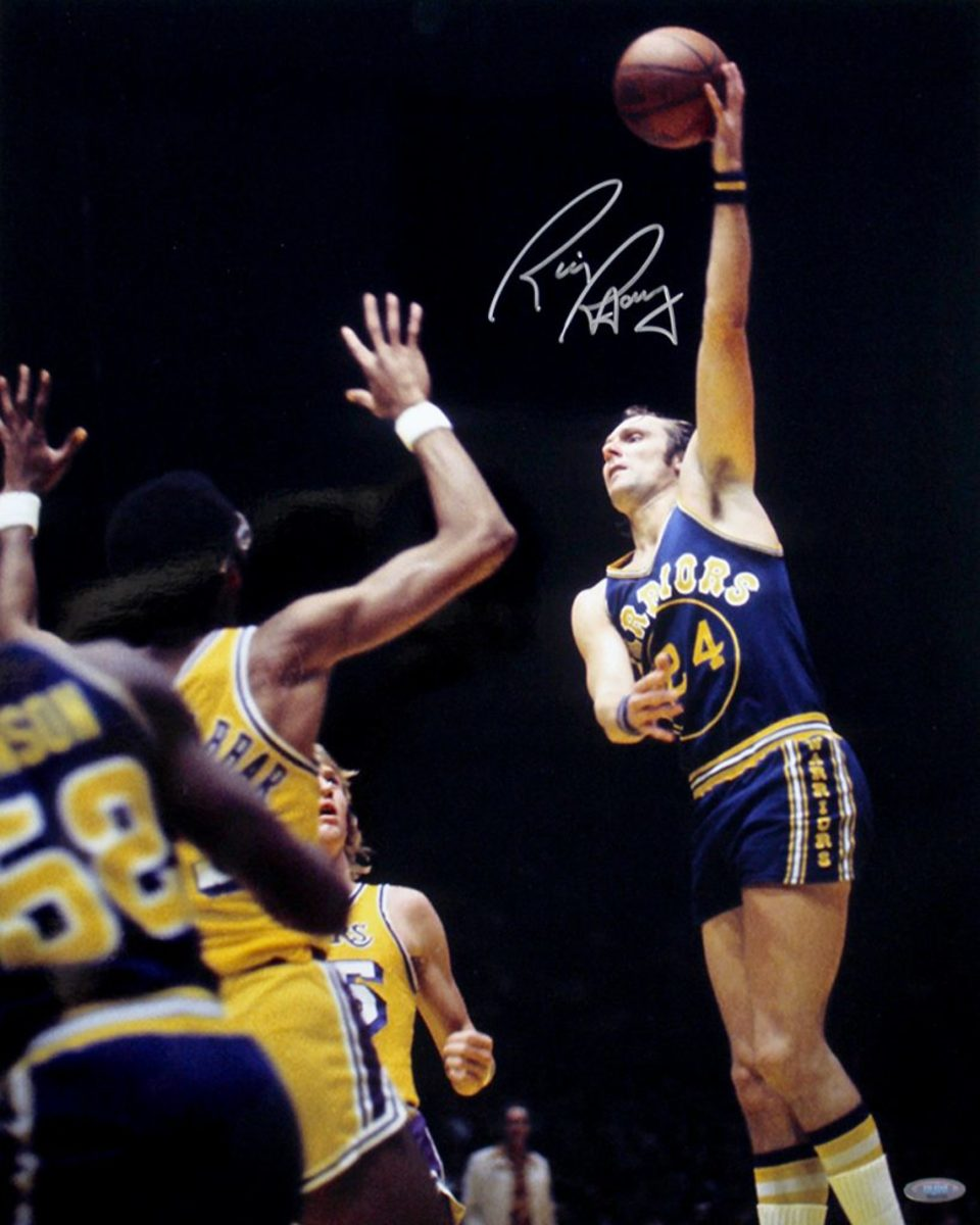 Rick Barry was a prolific scorer during his basketball career, and one of the best free-throw shooters, using an underhand technique.