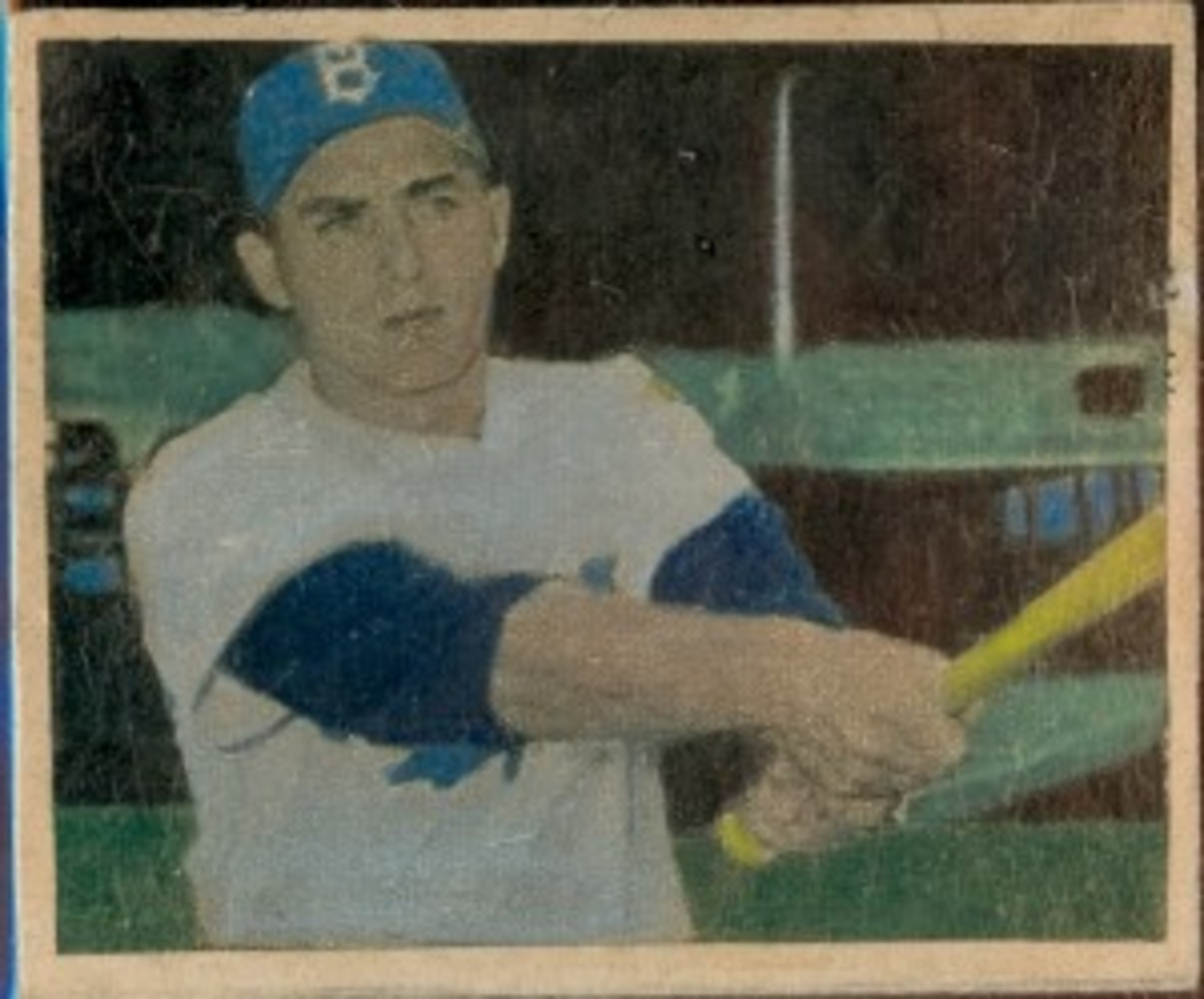 Gil Hodges was one of only two New York players in the set.