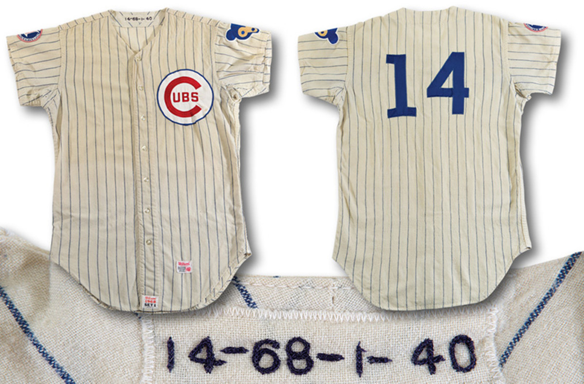 Ernie Banks '68 Cubs jersey