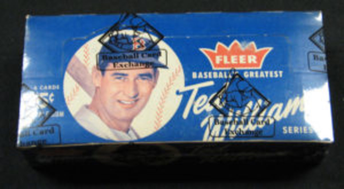 1959 Fleer Ted Williams full unopened wax box