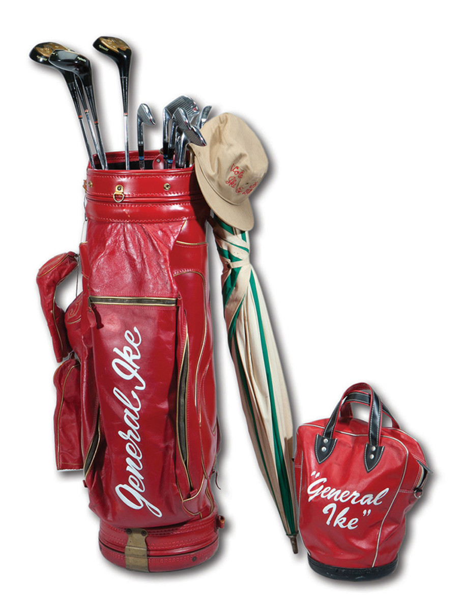 General Ike's Golf Bag and Clubs